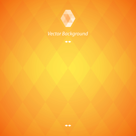 page background: Orange Abstract Geometrical Background