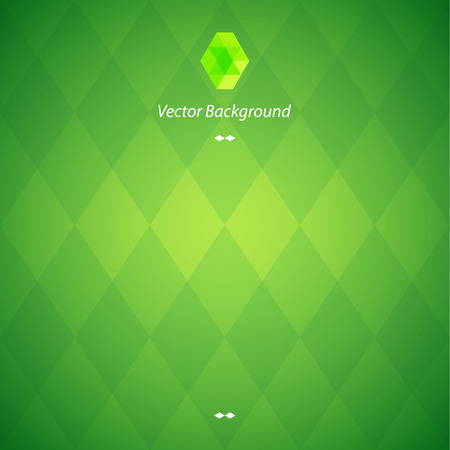 diamond texture: Green Abstract Geometrical Background