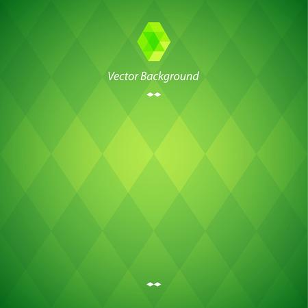 Zielona abstrakcyjne tło geometryczne