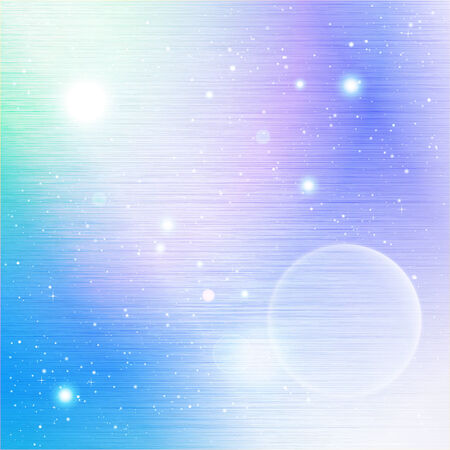 Space Abstract Vector Background