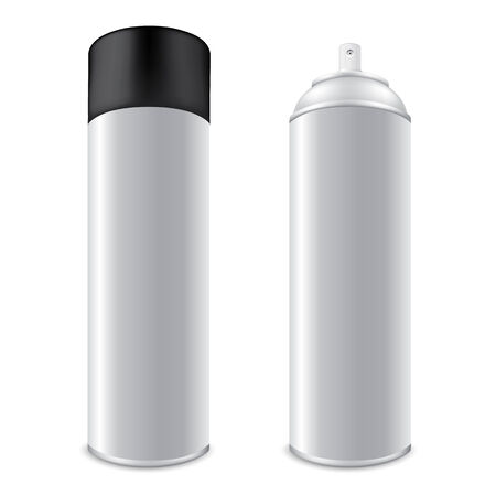 dispensing: Blank Aluminum Spray Cans