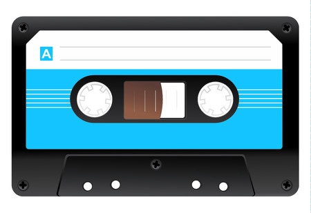 audio cassette: Audio Cassette Icon