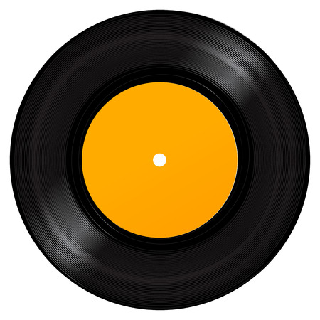oldies: Vinyl Record. Realistic Vector Illustration