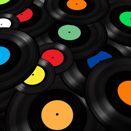 grooves: Vinyl Records Background