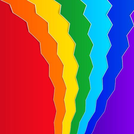szivárvány: Rainbow háttér