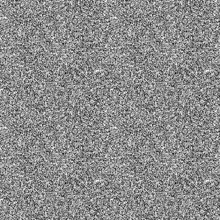 motif de bruit noir et blanc. Vecteur de fond