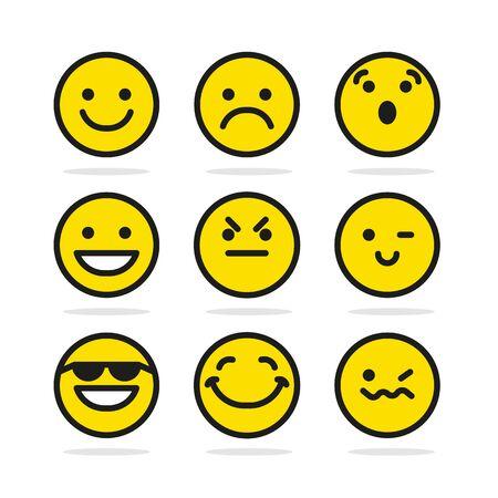 smile icon: Set Of Smile Icons, smile icon flat, smile icon round, smile icon vector, smile icon illustration, smile icon on white, cute smile icon, emotion smile icon