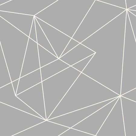 Vector seamless triangles geometric pattern