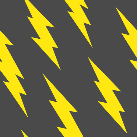 Flash, lightning bolt seamless pattern Reklamní fotografie - 70234436