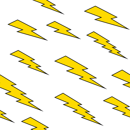 thunderbolt: Seamless pattern with thunderbolt Illustration