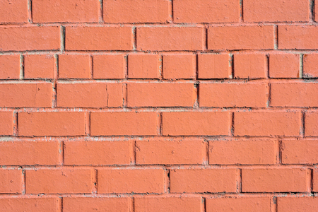 Old red brick wall texture or background Stock Photo