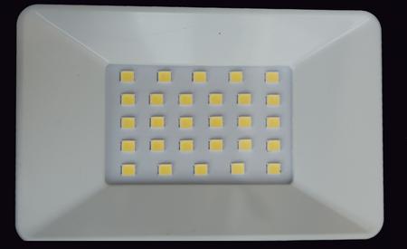 LED spotlight close-up.
