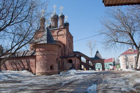 patriarchal: The Cathedral of the Dormition. Kruticky Patriarchal farmstead.