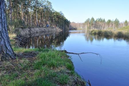 pra: May the landscape  River PRA, the national Park