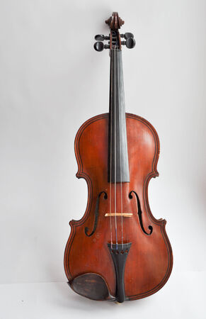 guise: In the guise of a violin is something exciting and fascinating  This harmony, including smooth outlines and warm color  Stock Photo