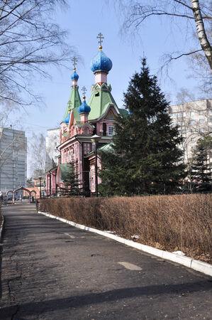 Church of Trinity, the wooden Church in Lyubertsy, Moscow region, Russia