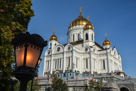 Cathedral Of Christ The Saviour. The main Orthodox Church in the capital of Russia.