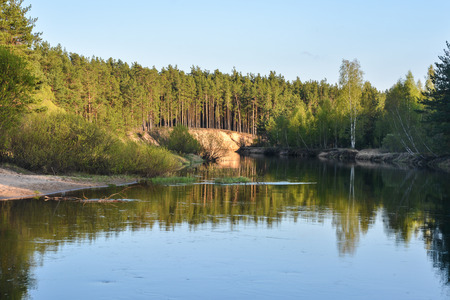 Spring river in the national Park