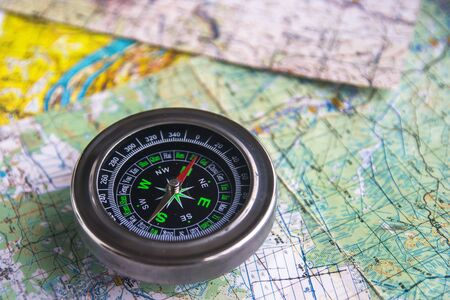 Map and compass. True navigation to be sure of the journey.