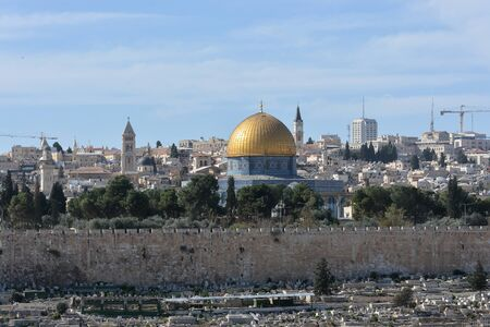 Jerusalem, the old city. The crossroads of civilizations and a place to live is the city of Jerusalem.