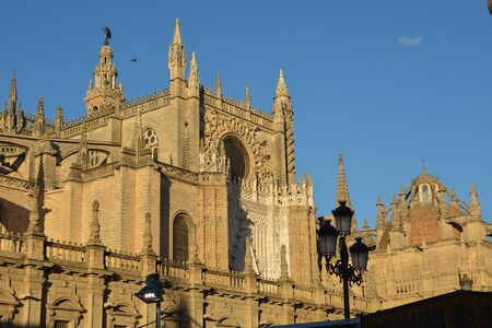 Seville Cathedral. The largest Gothic Cathedral in Europe.