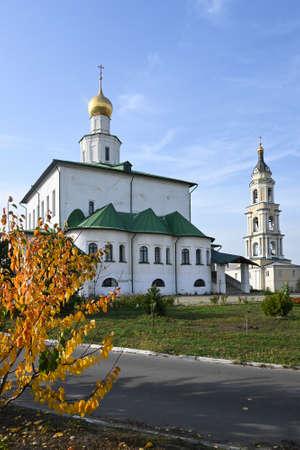 Epiphany Staro-Golutvin Monastery. Orthodox monastery in the east of the Moscow region. Stockfoto
