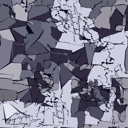 vector pattern in the form of a stone structure in gray tones for wall decoration
