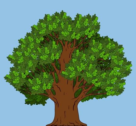 Green tree Stock Vector - 10509321
