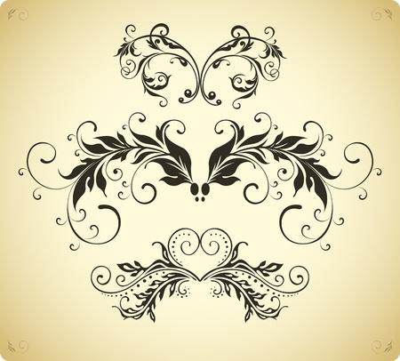 виньетка: классический декор границу