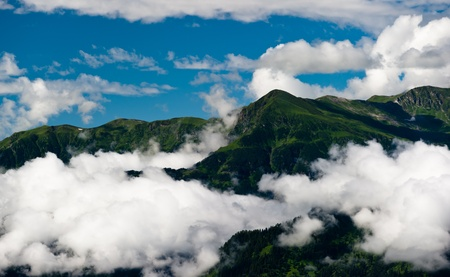 Mountain landscape. Himalaya nature background.  photo
