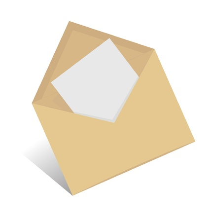 letter envelope: open envelope
