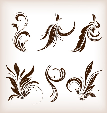 floral design Stock Vector - 10502398