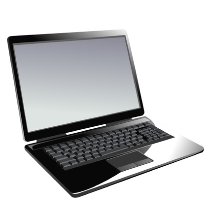 Laptop icon Stock Vector - 10502389