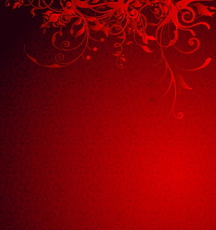 red background for valentine Vector