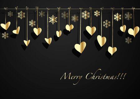 seasonal symbol: Navidad elementos de decoraci�n de fondo