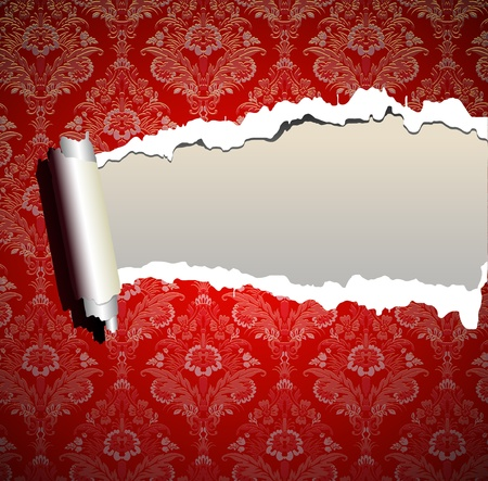 Christmas frame wallpaper background Vector