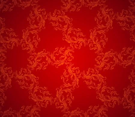 red wallpaper: Wallpaper vintage background, classic paper texture