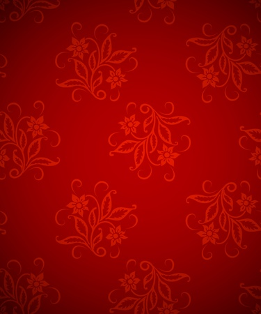 Wallpaper vintage background, classic paper texture Vector