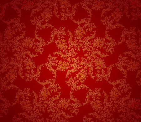 Christmas background red texture. Seamless wallpaper