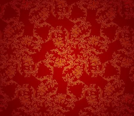 Weihnachtshintergrund rot Textur. Seamless wallpaper Vektorgrafik