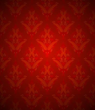 Vintage wallpaper texture Vector