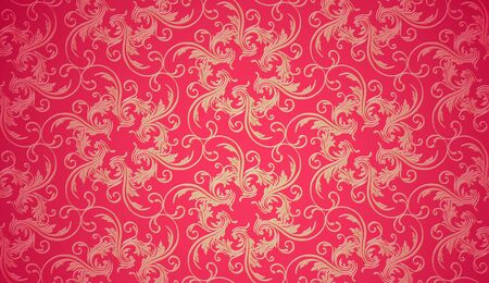 Christmas background texture. Seamless wallpaper Vector