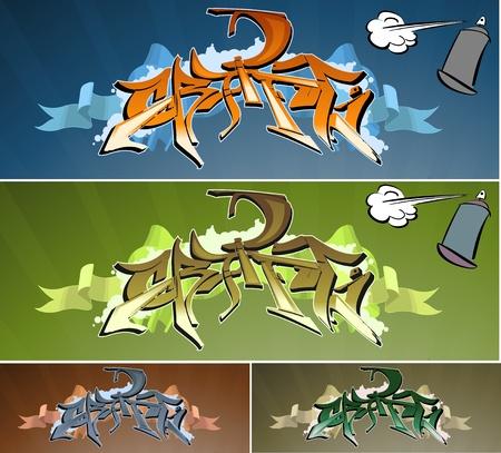 grafiti: graffiti wall