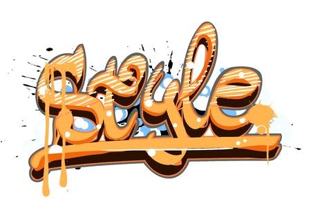 graphiti: Graffiti urban art