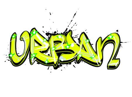 Graffiti arte urbano