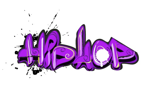 Graffiti urban art Stock Vector - 11485975