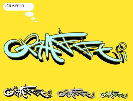 graphiti: Graffiti urban art