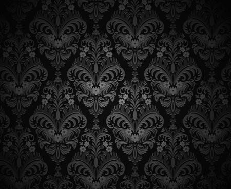 victorian fashion: Vintage background seamless texture