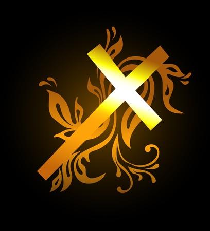 jesus en la cruz: Cruz de Pascua