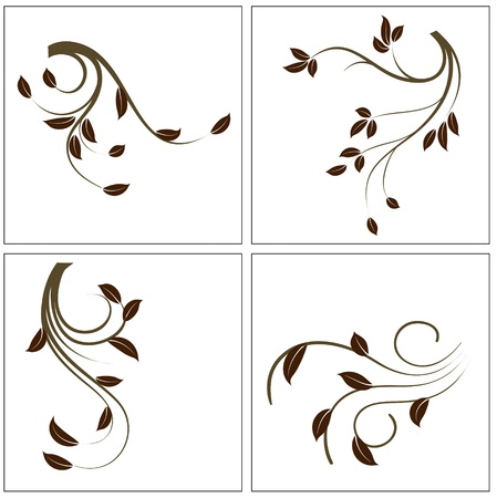 swirl design: Decoration Plants